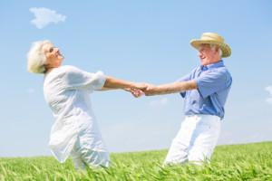 Älteres Paar bei der Auswahl zur lebenslangen Rente